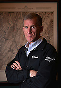 Retired General and author, Stanley McCrystal, has established a consultancy: The McCrystal Group.<br /> McChrystal stands in front of a map of the Battle of Gettysburg in his office.