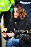 Femme de Mourad BOUDJELLAL - 02.05.2015 - Clermont / Toulon - Finale European Champions Cup -Twickenham<br />Photo : Dave Winter / Icon Sport