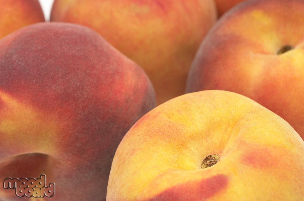 Peaches, close-up