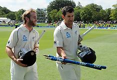 Christchurch-Cricket, New Zealand v Sri Lanka, 1st test, day 4