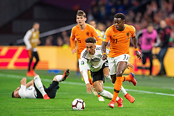24-03-2019 NED: UEFA Euro 2020 qualification Netherlands - Germany, Amsterdam<br /> Netherlands lost the match 3-2 in the last minute / Thilo Kehrer #2 of Germany, Quincy Promes #11 of The Netherlands