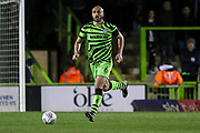Forest Green Rovers Farrend Rawson(6) runs forward during the EFL Sky Bet League 2 match between Forest Green Rovers and Port Vale at the New Lawn, Forest Green, United Kingdom on 11 February 2020