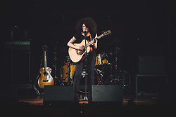 May 6, 2017 - Torino, Torino, Italy - The Italian singer Marianne Mirage, stage name of Giovanna Gardelli, performs live at the Auditorium RAI in Torino, opening the Patti Smith concert. (Credit Image: © Alessandro Bosio/Pacific Press via ZUMA Wire)