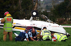 Auckland-Cessna flips after forced landing near Clevedon
