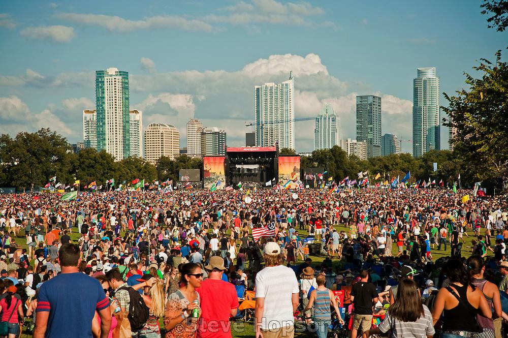Austin City Limits Music Festival 2011, Austin, Texas, October 12, 2012.