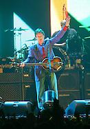 Sir Paul McCartney in concert in Liverpool..