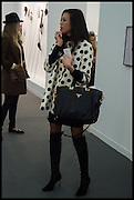 TATIANA OJJAY DARA HUANGOpening of Frieze art Fair. London. 14 October 2014