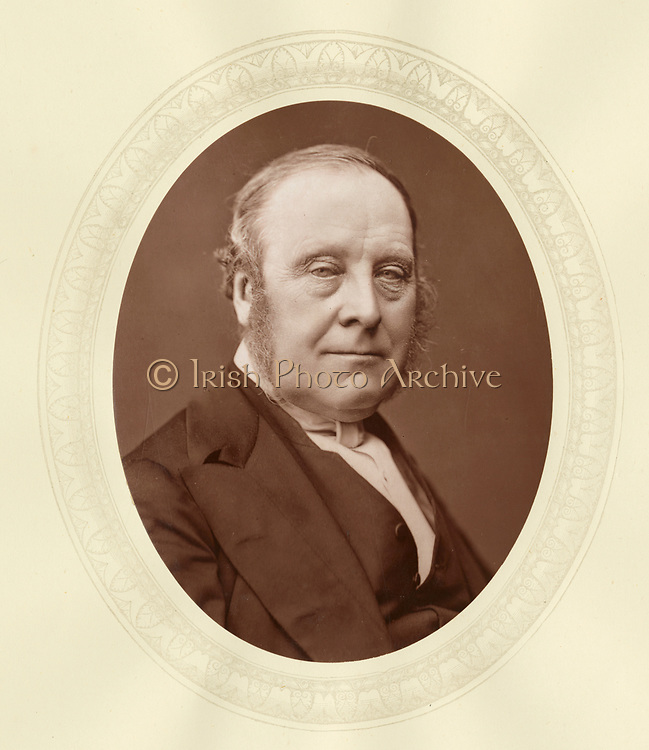 'John Thomas Freeman Mitford, 1st Earl Redesdale (1805-1886) c1876, English nobleman, Chairman of Committees of the House of Lords 1851-1886.'