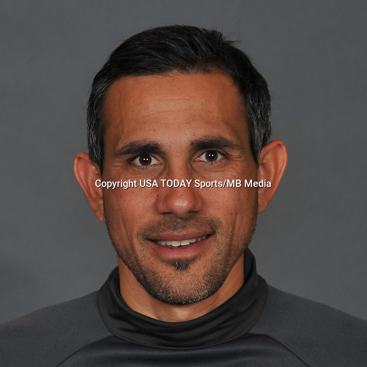 Feb 25, 2016; USA; Colorado Rapids coach Pablo Mastroeni poses for a photo. Mandatory Credit: USA TODAY Sports