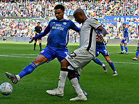 Football - 2019 / 2020 Sky Bet (EFL) Championship - Swansea City vs. Reading<br /> <br /> André Ayew of Swansea City & Josh Murphy of Cardiff City, at the Liberty Stadium.<br /> <br /> COLORSPORT/WINSTON BYNORTH