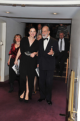 HRH PRINCE MICHAEL OF KENT and OLGA BALAKLEETS at the Russian Ballet Icons Gala & Dinner dedicated to Anna Pavlova held at the The London Coliseum<br /> 33-35 St.Martin's Lane, London on 4th March 2012.