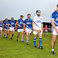 Cratloe team parading before the County Final