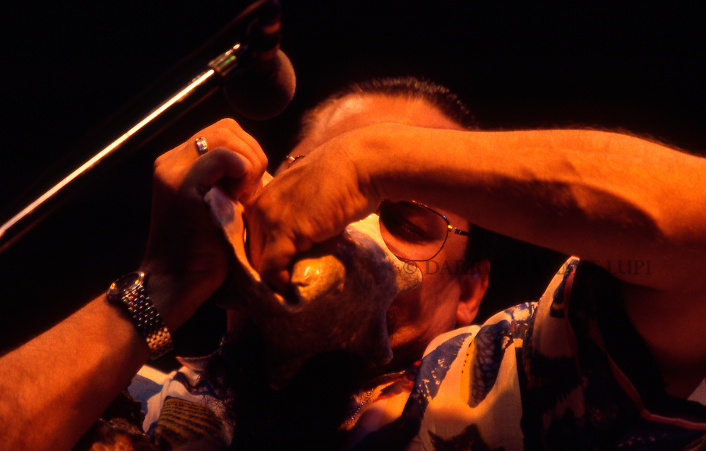 Steve Turre (McCoy Tyner and the Latin Allstars), 1998<br />