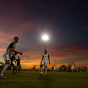 04 November 2018: San Diego State men's soccer closed out it's regular season with a 2-0 loss against Cal at the Aztecs Sports Deck Sunday evening.