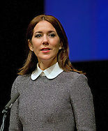 The Hague, 05-11-2015<br /> <br /> Crown Princess Mary of Denmark attend the World Conference of Women's Shelters.