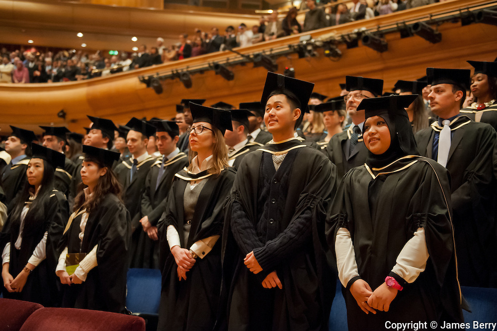 University of London International Programmes Graduation Ceremony 2013. Barbican Centre, London. Tuesday 19 March 2013.