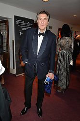 BRYAN FERRY at the 10th anniversary Gala of the Russian Ballet Icons at the London Coliseum, St.Martin's Lane, London on 8th March 2015.