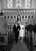 1962 - Wedding of Desmond English and Blanche O'Brien at St John the Baptist Church, Blackrock