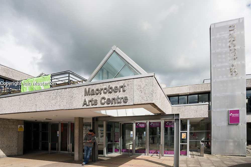 Macrobert Arts Centre building At University of Stirling in Scotland, United Kingdom