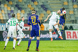 Delamea Klinar of NK Olimpija during football match between NK Maribor and NK Olimpija Ljubljana in 2nd leg match in Quaterfinal of Slovenian cup 2017/2018, on November 29, 2017 in Ljudski vrt, Maribor, Slovenia. Photo by Ziga Zupan / Sportida