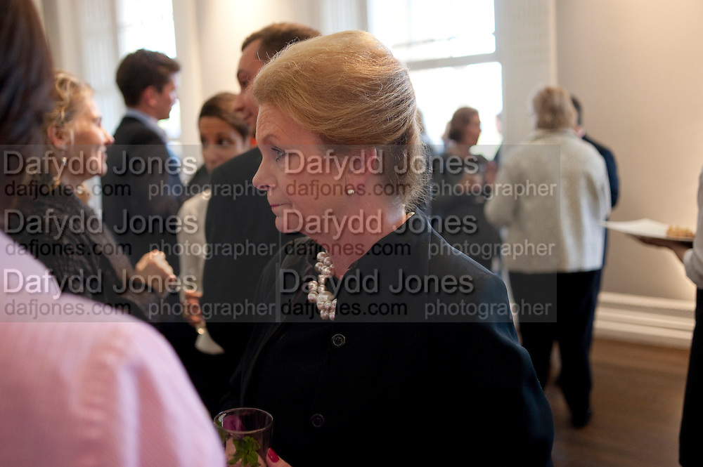 LADY LIDDELL FORMER HIGH COMMISSIONER TO AUSTRALIA, , MCA Sydney cocktails. Brandon rooms. ICA. London. 11 October 2011. <br /> <br />  , -DO NOT ARCHIVE-&copy; Copyright Photograph by Dafydd Jones. 248 Clapham Rd. London SW9 0PZ. Tel 0207 820 0771. www.dafjones.com.