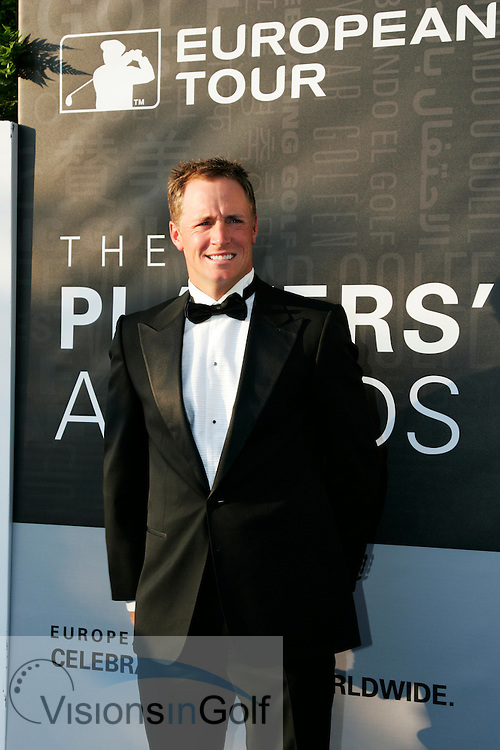 Alexander Noren at the European Tour Annual Dinner <br /> May 2012<br /> Picture Credit: Mark Newcombe / www.visionsingolf.com