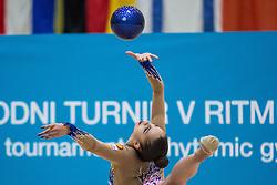 Mamun Margarita of Russia competes during 29th MTM - International tournament in rhythmic gymnastics Ljubljana, on March 12, 2016 in gymnastics center Ljubljana, Ljubljana, Slovenia.  Photo by Grega Valancic / Sportida