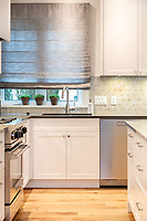A historical home in Oak Bay, Victoria, BC, is updated with a complete interior renovation to contemporary standards by Falcon Heights Contracting.