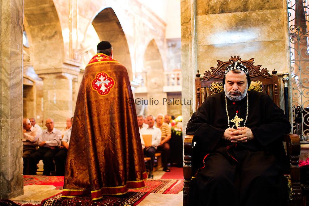 Sunday Holy Mass in Bahzani, Mosul