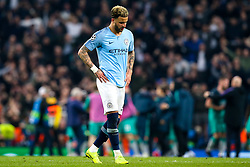 Kyle Walker of Manchester City cuts a dejected figure after his side lose to Tottenham Hotspur - Mandatory by-line: Robbie Stephenson/JMP - 17/04/2019 - FOOTBALL - Etihad Stadium - Manchester, England - Manchester City v Tottenham Hotspur - UEFA Champions League Quarter Final 2nd Leg