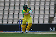 Adam Finch Batting during the ICC Cricket World Cup 2019 warm up match between England and Australia at the Ageas Bowl, Southampton, United Kingdom on 25 May 2019.