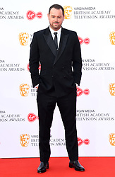Danny Dyer attending the Virgin Media BAFTA TV awards, held at the Royal Festival Hall in London. Photo credit should read: Doug Peters/EMPICS