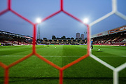 general shot of the stadium  at the EFL Sky Bet Championship match between Brentford and Derby County at Griffin Park, London, England on 26 September 2017. Photo by Sebastian Frej.