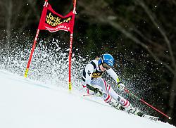 "Bernadette Schield (AUT) competes during 1st Run of the FIS Alpine Ski World Cup 2017/18 5th Ladies' Giant Slalom race named ""Golden Fox 2018"", on January 6, 2018 in Podkoren, Kranjska Gora, Slovenia. Photo by Ziga Zupan / Sportida"