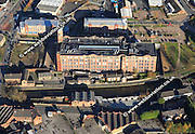 aerial photograph of Trencherfield Mill  Wigan Lancashire England UK