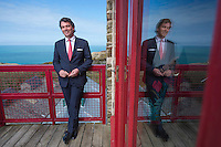 Picture By Jim Wileman  10/04/2014  Gavin Patterson, Chief Exec of BT, pictured at UKNetWeb, St. Agnes, Cornwall.