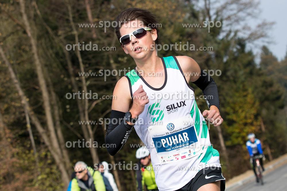 Rok Puhar of Slovenia during 22nd Ljubljana Marathon 2017 on October 29, 2017 in Ljubljana, Slovenia. Photo by Matic Klansek Velej / Sportida