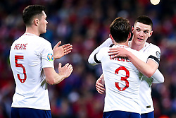 Ben Chilwell and Declan Rice of England celebrate victory over Czech Republic - Mandatory by-line: Robbie Stephenson/JMP - 22/03/2019 - FOOTBALL - Wembley Stadium - London, United Kingdom - England v Czech Republic - UEFA EURO 2020 Qualifier