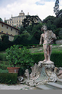17th century baroque garden of the Villa Garzoni, Collodi, Tuscany, Italy.
