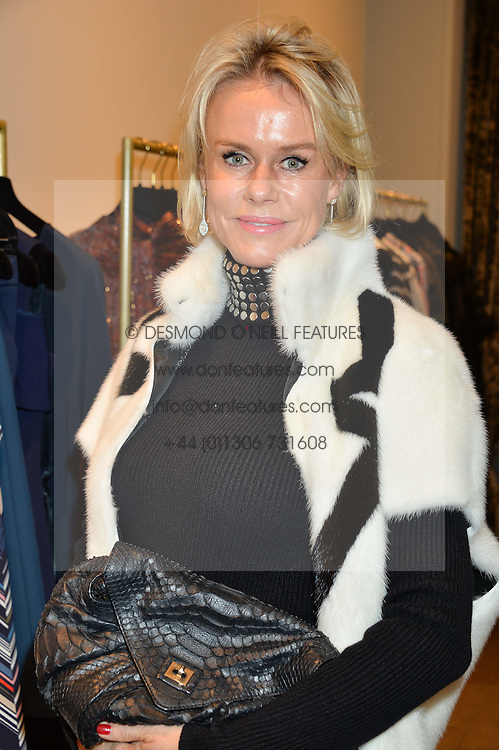 LINDA ASHLEY ex wife of Mike Ashley owner of Newcastle United FC at the Salt Store VIP Shopping event at 77 Eliabeth Street, London on 2nd December 2015.