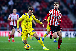 Alex Rodman of Bristol Rovers takes on Max Power of Sunderland - Mandatory by-line: Robbie Stephenson/JMP - 15/12/2018 - FOOTBALL - Stadium of Light - Sunderland, England - Sunderland v Bristol Rovers - Sky Bet League One