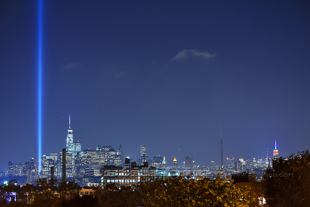 Tribute in Light - We Shall Never Forget. 2014