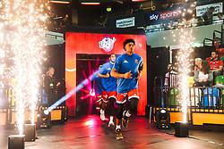Justin Gray of Bristol Flyers runs out as Bristol Flyers play London Lions - Rogan/JMP - 14/10/2018 - BASKETBALL - Copper Box Arena - London, England - British Basketball All-Stars Championship 2018.