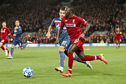 October 24, 2018 - Liverpool, England, United Kingdom - Liverpool forward Sadio Mane (10) in action during the Uefa Champions League Group Stage football match n.3 LIVERPOOL - CRVENA ZVEZDA on 24/10/2018 at the Anfield Road in Liverpool, England. (Credit Image: © Matteo Bottanelli/NurPhoto via ZUMA Press)