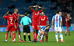 Tammy Abraham of Bristol City shows a look of dejection - Mandatory by-line: Matt McNulty/JMP - 10/12/2016 - FOOTBALL - The John Smith's Stadium - Huddersfield, England - Huddersfield Town v Bristol City - Sky Bet Championship