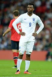 England's Daniel Sturridge (Liverpool) - Photo mandatory by-line: Alex James/JMP - Mobile: 07966 386802 - 3/09/14 - SPORT - FOOTBALL - London - Wembley Stadium - England v Norway - International Friendly