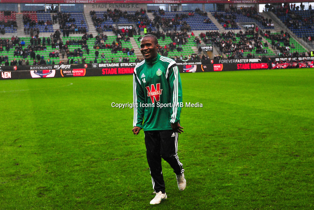 Landry Tsafack Nguemo  - 18.01.2015 - Rennes / Saint Etienne - 21eme journee de Ligue 1 - <br /> Photo : Philippe Le Brech / Icon Sport