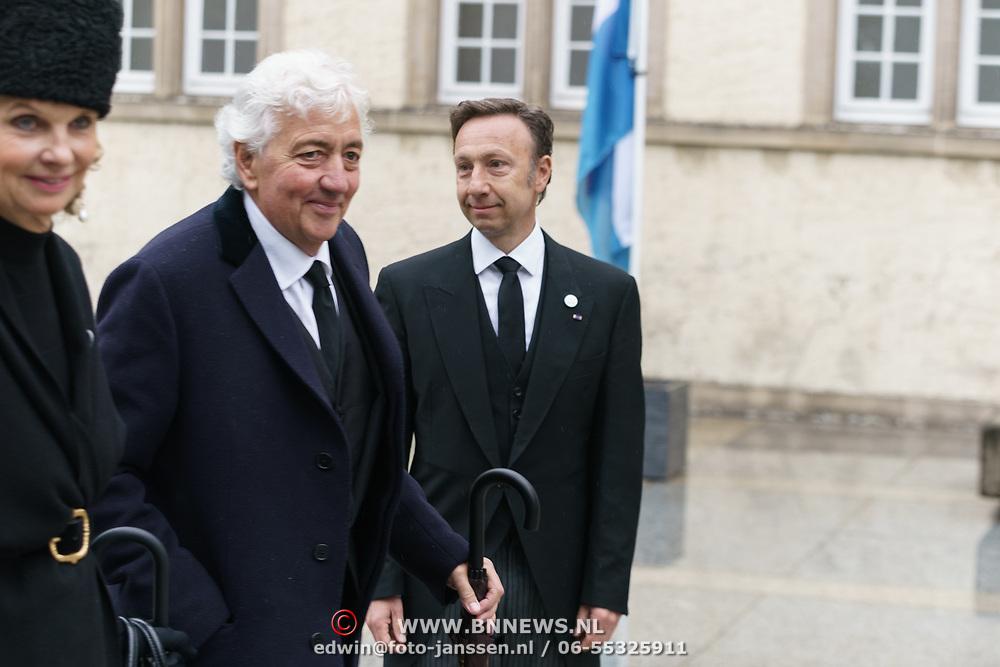 LUX/Luxemburg/20190504 -  Funeral<br /> of HRH Grand Duke Jean, Uitvaart Groothertog Jean, Stephane Bern
