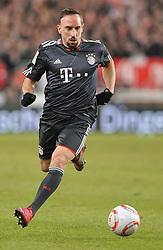 19.12.2010, Mercedes Benz Arena , Stuttgart, GER, 1.FBL, VfB Stuttgart vs FC Bayern Muenchen, im Bild Franck Ribery (Bayern #7), EXPA Pictures © 2010, PhotoCredit: EXPA/ nph/  Roth       ****** out ouf GER ******