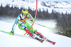 17.02.2019, Aare, SWE, FIS Weltmeisterschaften Ski Alpin, Slalom, Herren, 1. Lauf, im Bild Stefan Hadalin (SLO) // Stefan Hadalin of Slovenia in action during his 1st run of men's Slalom of FIS Ski World Championships 2019. Aare, Sweden on 2019/02/17. EXPA Pictures © 2019, PhotoCredit: EXPA/ Dominik Angerer